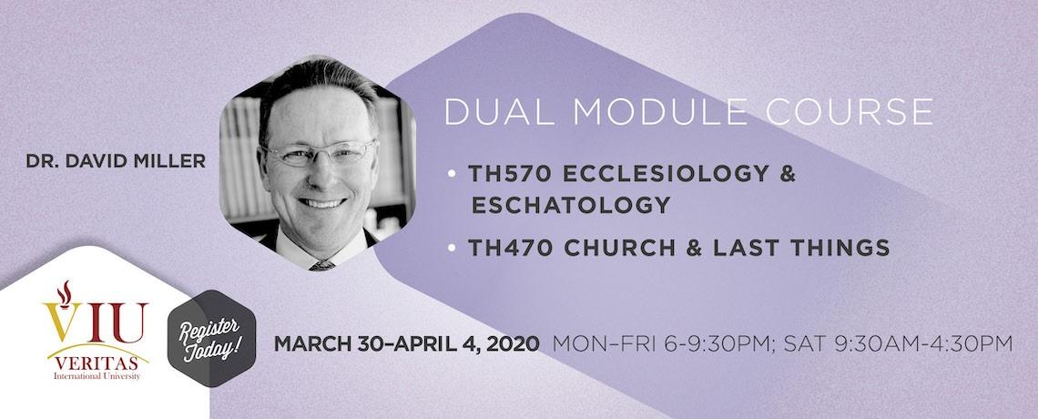 TH570 & TH470 – Dr. David Miller