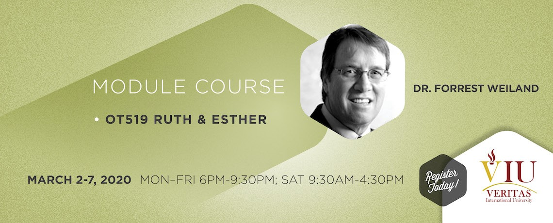OT519 Ruth & Esther – Dr. Forrest Weiland
