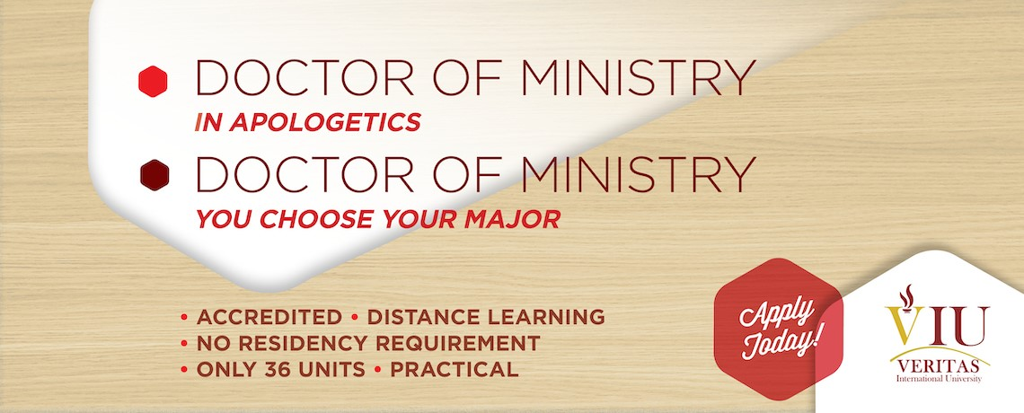 Doctor of Ministry in Christian Apologetics
